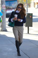 SELMA BLAIR in Equestrian Gear Out in Studio City 12/22/2017