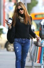 SELMA BLAIR Out for Coffee in West Hollywood 12/22/2017