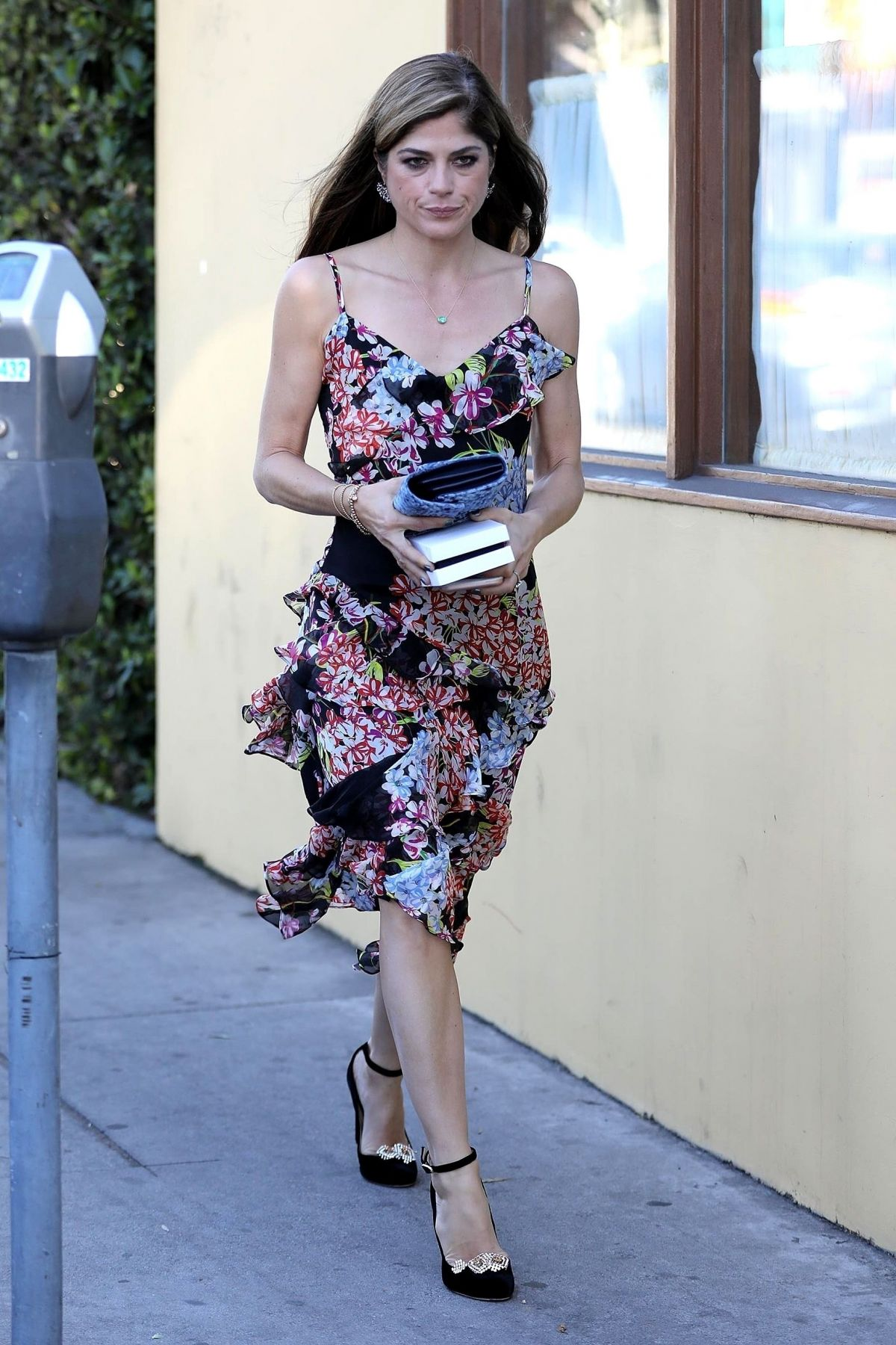 SELMA BLAIR Out for Lunch in West Hollywood 12/01/2017 ...