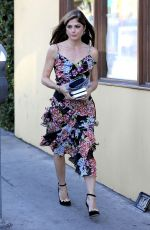 SELMA BLAIR Out for Lunch in West Hollywood 12/01/2017