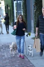 SELMA BLAIR Out Shopping in Los Angeles 12/21/2017