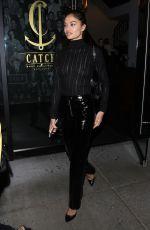 SHANINA SHAIK Leaves Catch LA in West Hollywood 12/21/2017