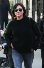 SHANNEN DOHERTY Out Shopping in Beverly Hills 12/22/2017