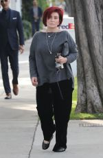 SHARON OSBOURNE Out Shopping in West Hollywood 12/18/2017