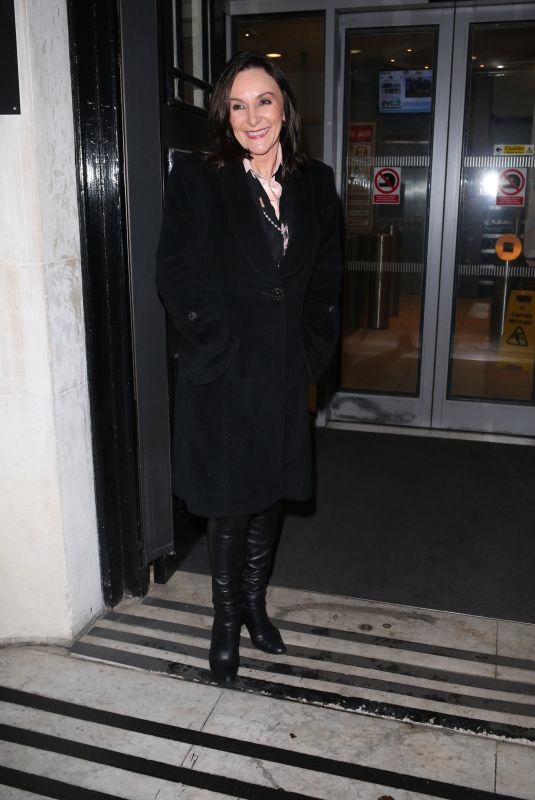 SHIRLEY BALLAS at BBC Studios in London 12/15/2017