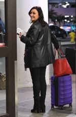 SHIRLEY BALLAS at LAX Airport in Los Angeles 12/18/2017