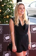 SIAN WELBY at Tric Awards Christmas Lunch in London 12/12/2017