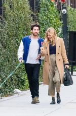 SIENNA MILLER and Jake Hoffman Out in New York 11/29/2017