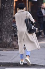 SIENNA MILLER Out and About in New York 12/03/2017
