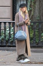 SIENNA MILLER Out and About in New York 12/11/2017