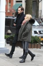 SIENNA MILLER Out for Lunch with a Friend in New York 12/15/2017