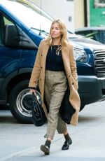 SIENNA MILLER Out in New York 11/29/2017