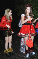 SKYLAR and AFTON MCKEITH-MAGAZINER and GILLIAN MCKEITH at Piers Morgan's Christmas Party in London 12/21/2017