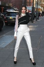 SOFIA CARSON Arrives at The View in New York 12/07/2017