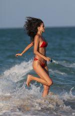 SOFIA RESING in Bikini on the Beach in Miami 12/08/2017