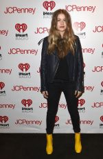 SOFIA REYES at Iheartradio Mi Musica with Becky G in Burbank 12/14/2017