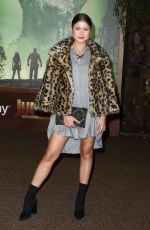SOFIA REYES at Jumanji: Welcome to the Jungle Premiere in Los Angeles 12/11/2017