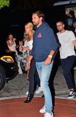 SOFIA RICHIE and Scott Disick at LIV Nightclub in Miami 12/08/2017