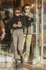 SOFIA RICHIE and Scott Disick Out for Coffee in Calabasas 12/22/2017