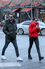 SOFIA RICHIE and Scott Disick Out Shopping in Aspen 12/29/2017