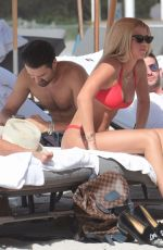 SOFIA RICHIE in Bikini at a Beach in Miami 12/06/2017