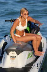 SOFIA RICHIE in Bikini at a Jet Ski Ride in Miami 12/08/2017