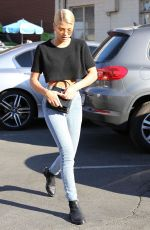 SOFIA RICHIE in Jeans Out in Beverly Hills 12/16/2017