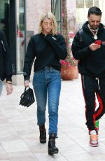 SOFIA RICHIE Out Shopping in Beverly Hills 12/16/2017
