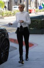 SOFIA RICHIE Shopping at Tom Ford in Beverly Hills 12/18/2017