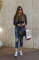 SOFIA VERGARA Shopping at Neiman Marcus in Los Angeles 12/18/2017