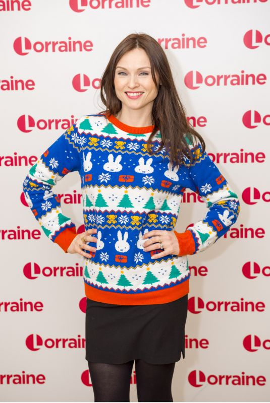 SOPHIE ELLIS-BEXTOR at Llorraine Show in London 12/15/2017