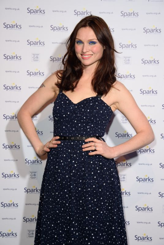 SOPHIE ELLIS-BEXTOR at Sparks Winter Ball in London 12/06/2017