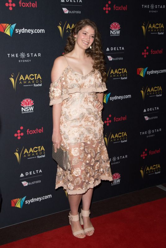 SOPHIE HAWKSHAW at Australian Academy Cinema Television Arts Awards Luncheon in Sydney 12/04/2017