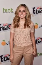 SOPHIE REYNOLDS at F the Prom Premiere in Hollywood 11/29/2017