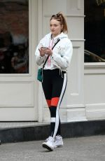 SOPHIE TURNER Out and About in New York 12/02/2017