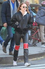 SOPHIE TURNER Out Shopping in New York 12/01/2017