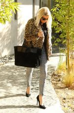 STACY FERGIE FERGUSON Out and About in Los Angeles 11/30/2017