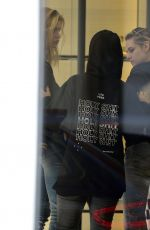 STELLA MAXWELL and KRISTEN STEWART kristen at Chanel Boutique on Rodeo Drive in Beverly Hills 12/21/2017