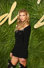 STELLA MAXWELL at British Fashion Awards 2017 in London 12/04/2017
