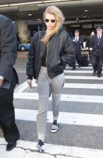 STELLA MAXWELL at LAX Airport in Los Angeles 12/27/2017