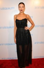 STEPHANIE CORNELIUSSEN at Animal Equality Global Action Annual Gala in Los Angeles 12/02/2017