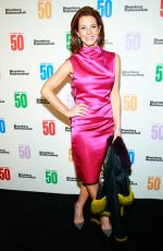 STEPHANIE RUHLE at Bloomberg 50: Icons & Innovators in Global Business Awards in New York 12/04/2017