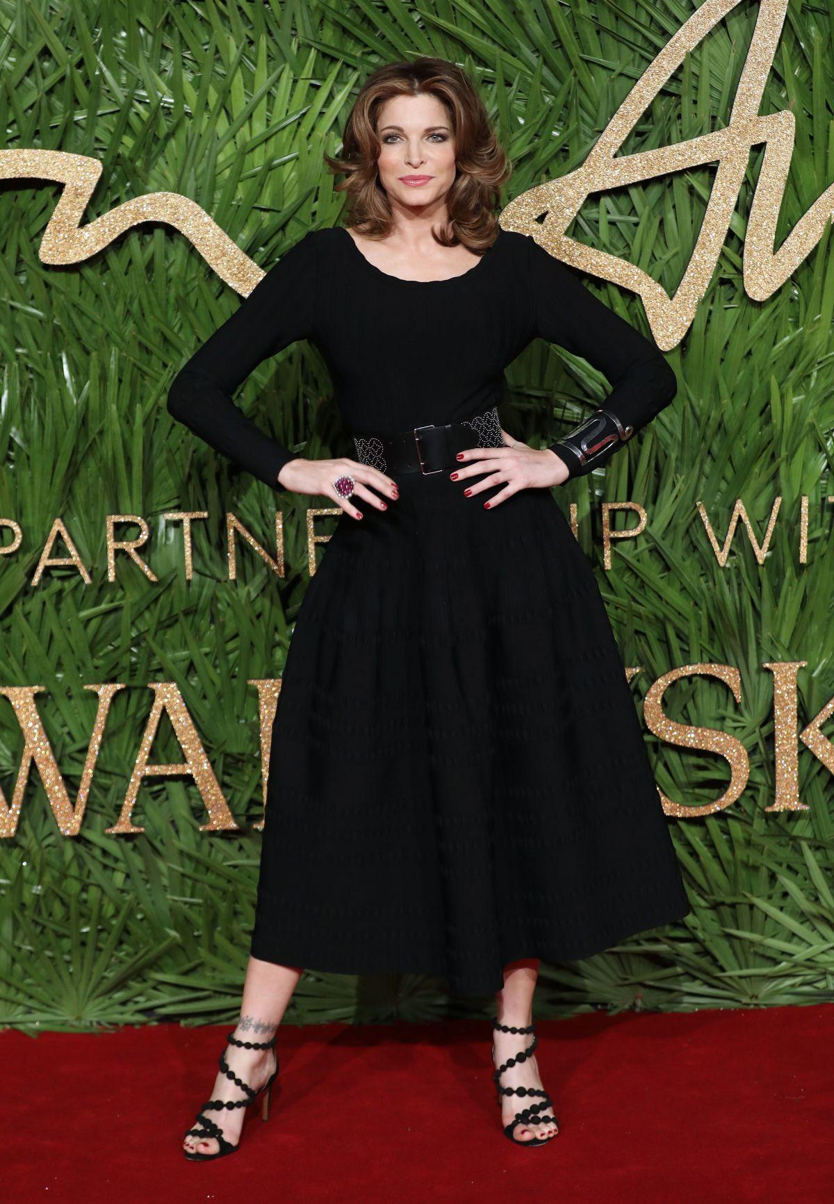 STEPHANIE SEYMOUR At British Fashion Awards 2017 In London