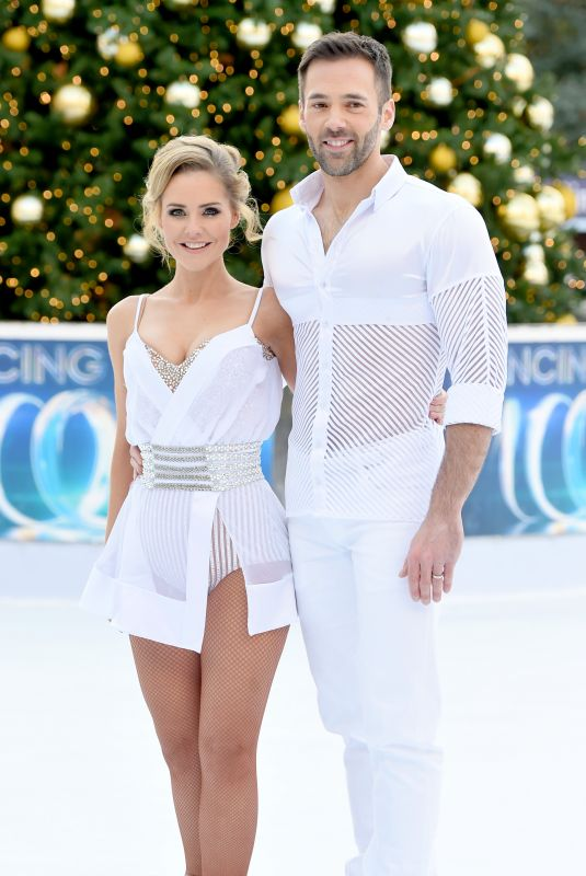 STEPHANIE WARING at Dancing on Ice Photocall in London 12/19/2017