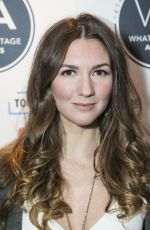 SUMMER STRALLEN at 2018 Whatsonstage Awards Nominations Party in London 11/30/2017