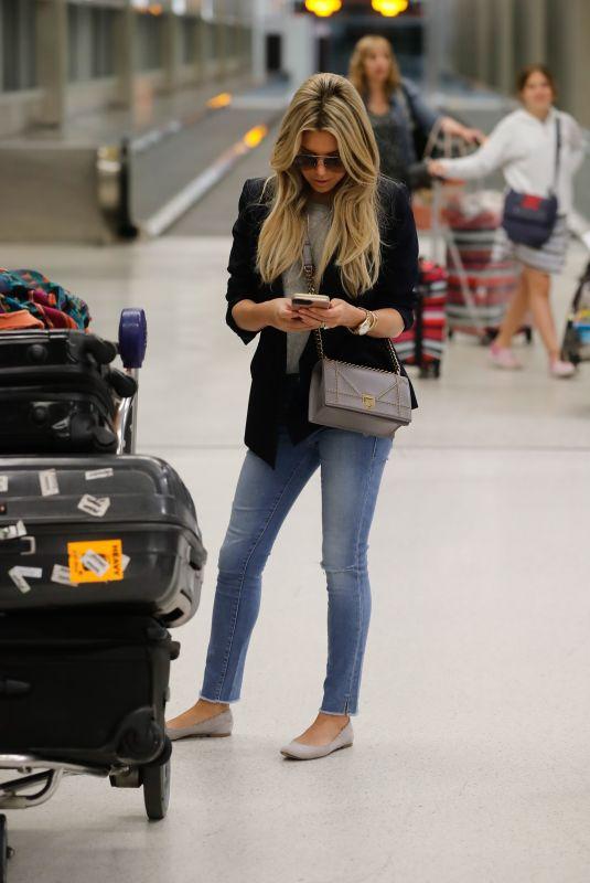 SYLVIE MEIS at Miami International Airport 12/27/2017