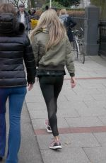 SYLVIE MEIS Heading to a Gym in Hamburg 12/07/2017