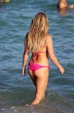 SYLVIE MEIS in Bikini on the Beach in Miami 12/28/2017