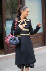 TAHNDIE NEWTON Leaves Her Hotel in New York 11/30/2017
