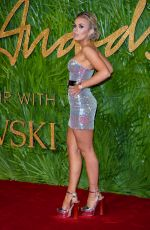 TALLIA STORM at British Fashion Awards 2017 in London 12/04/2017